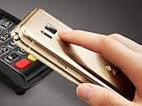Раскладной смартфон tkexun W2017 gold, фото 2