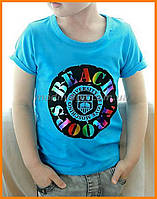 Футболка детская   Летняя футболка с принтом