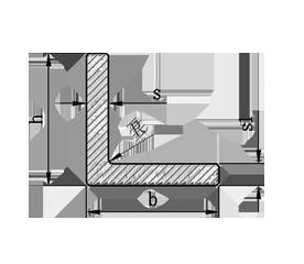 Уголок алюминий, без покрытия40х40х4, фото 3