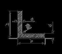 Уголок алюминиевый, дуб канадский 15х15х1,5, фото 3