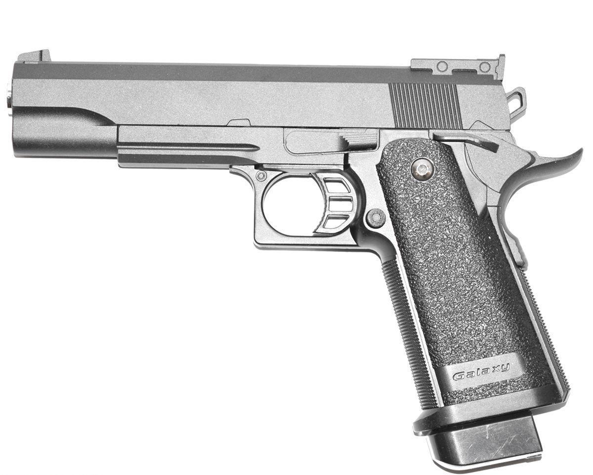 Страйкбольный пистолет Galaxy G6 (Colt Hi-Capa)