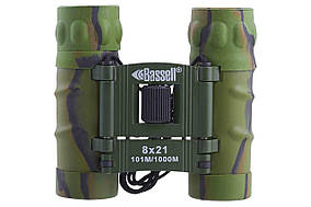 Бинокль 8x21 - BASSELL