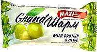 """Мыло туалетное твердое Grand шарм maxi """"Молочный протеин и оливка"""" (140г.)"""