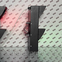 Светофоры Led светодиодные   Pharos 10 Вт. диаметр 120мм  сигнальный, транспортный ( 2-х секционный RG), фото 3