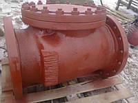 Клапан обратный 19с53нж Ду800 Ру40 поворотный фланцевый