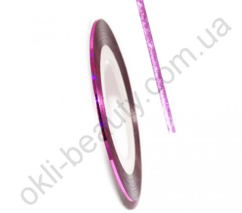 Декоративна самоклеюча стрічка (0,8 мм) №11 Колір: світло-рожевий