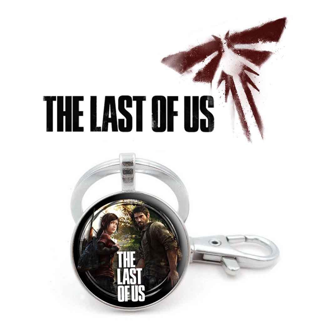Брелок The Last of Us с двумя героями