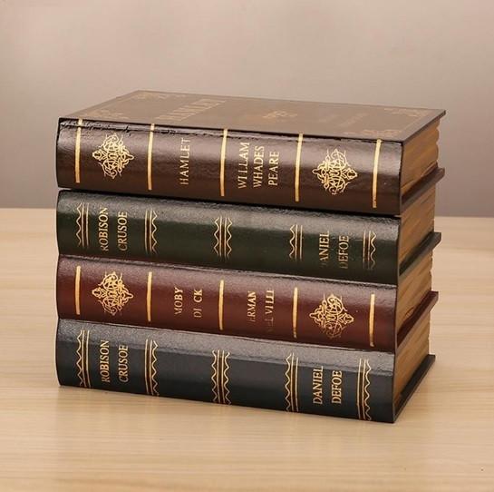 Гарний оригінальний книжковий тайник. Прихована скринька у вигляді книжок.