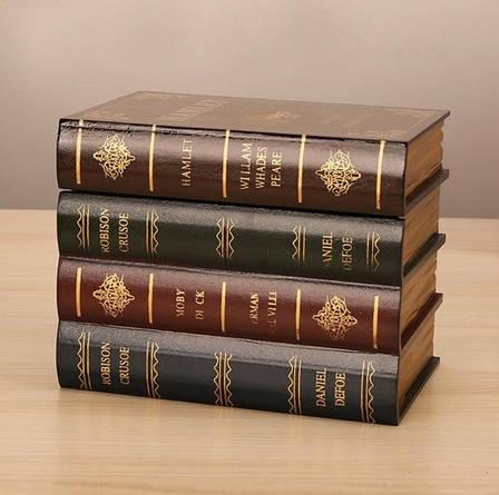 Красивый оригинальный книжный тайник. Скрытая шкатулка в виде книжек., фото 2