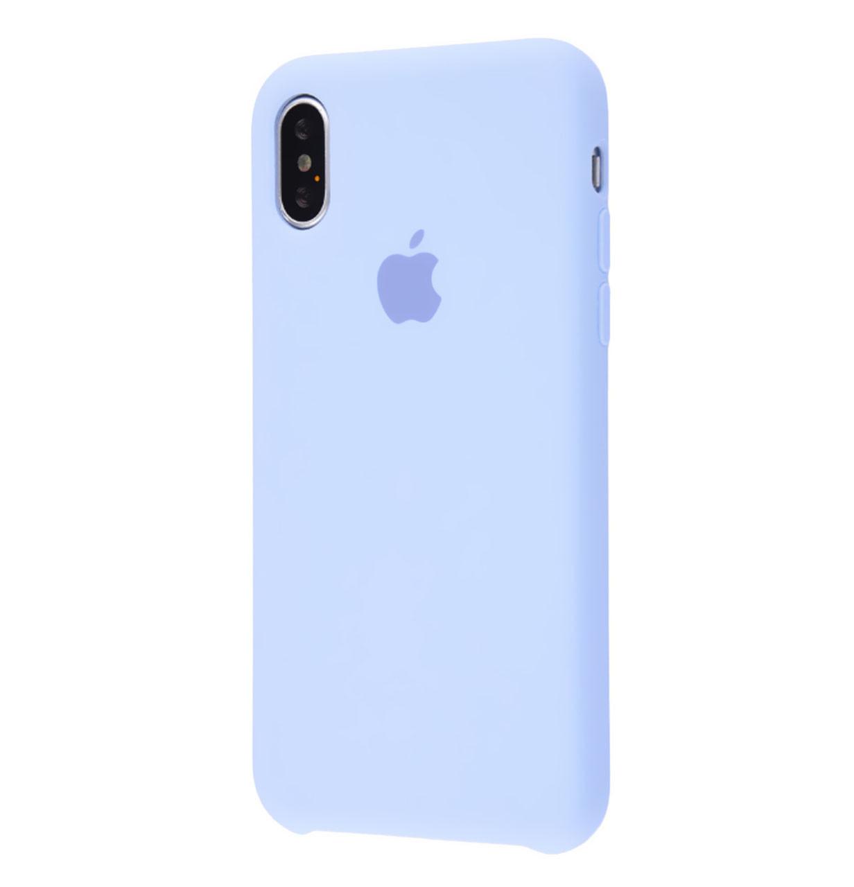 Чехол-накладка Original Silicone case для IPhone X / Xs Sky Blue