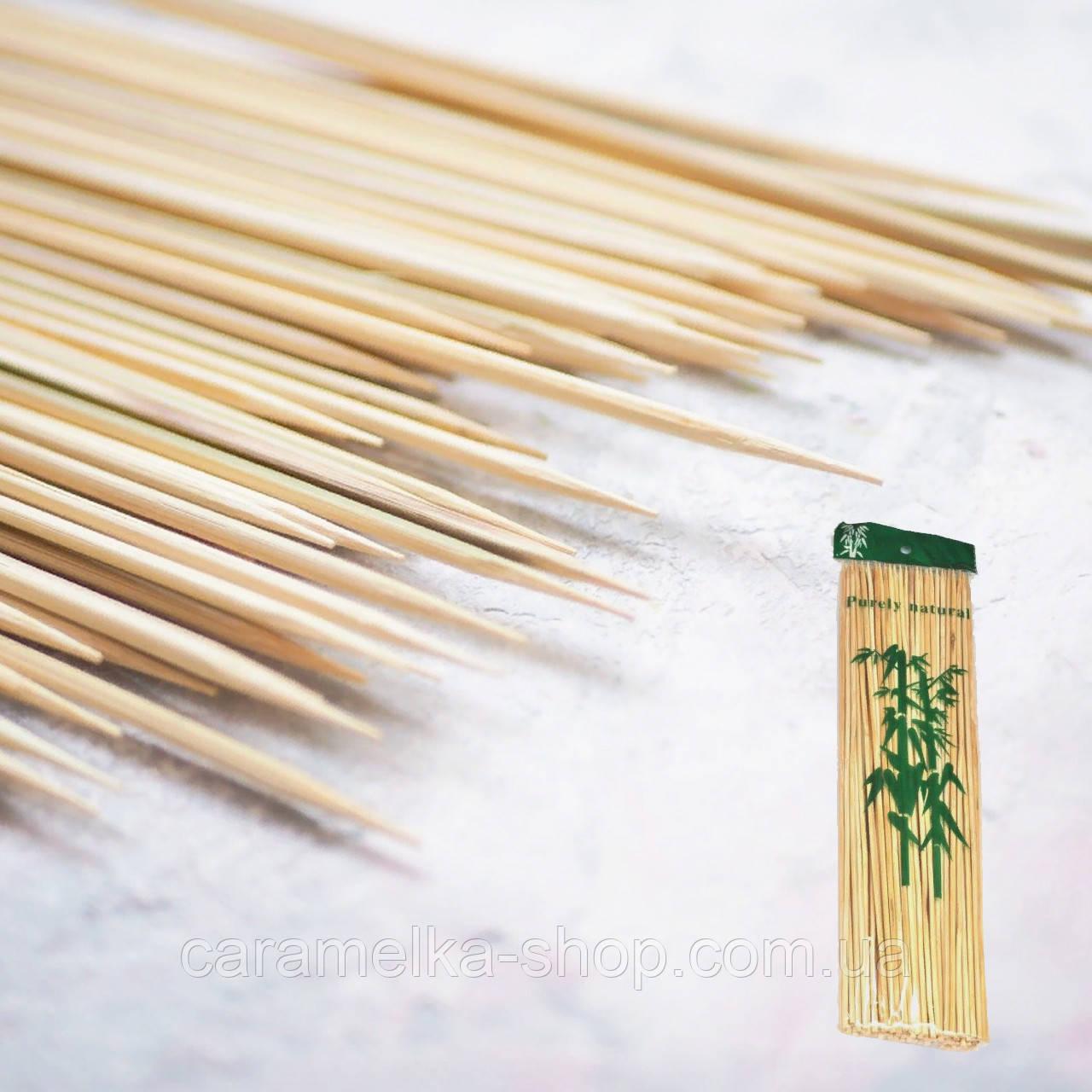 Бамбукові Шпажки 20 см, 100 штук в упаковці