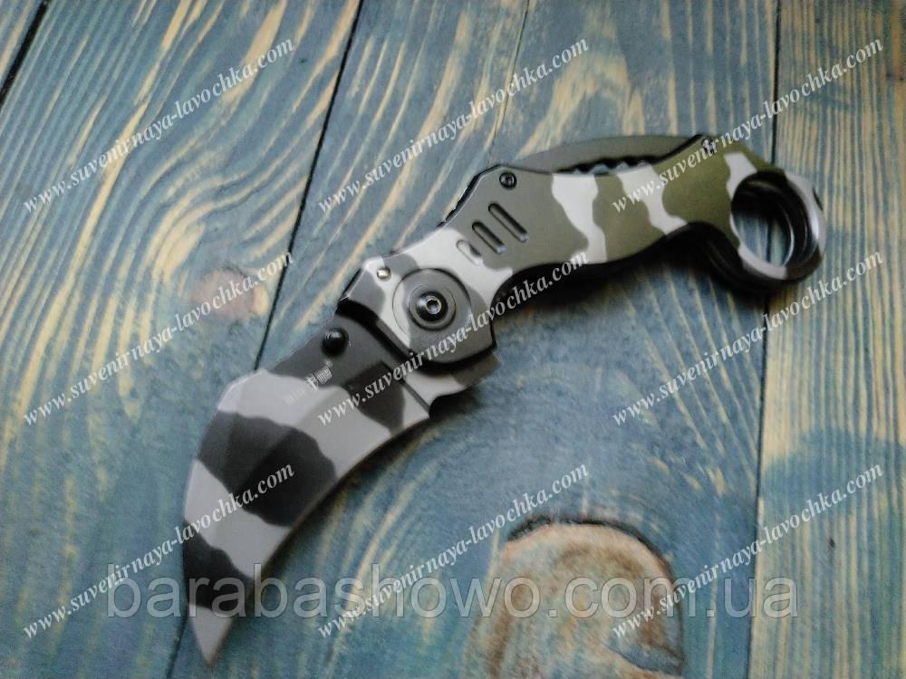 """Нож складной """"Spider camo"""" WK06130"""