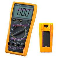 🔥✅ Цифровой мультиметр VC9805 измерительный прибор противоударный холстер цифровой