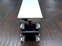 Дверное полотно под скрытый монтаж   Комплект профилей дверного полотна под коробку  В2100х900, фото 2