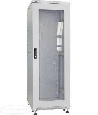 Серверный шкаф напольный, модель: ШС-42U/6.6C. 2040х600х600мм. Б/У., фото 2