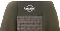 Чехлы в автомобиль Nissan Almera (с подголовниками + подлокотник) с 2000-