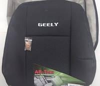 Чехлы в автомобиль Geely GC7 (1/3 спинка + подлокотник) c 2015-
