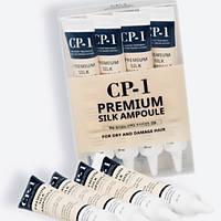 Набор несмываемых сывороток для сухих волос CP‐1 PREMIUM SILK AMPOULE (20 мл×4) - 80 мл