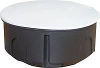 Коробка распределительная  с крышкой    (d 80)    50  шт/уп