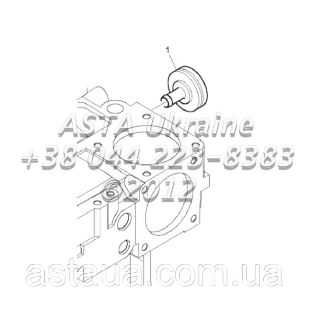 Вспомогательное оборудование, двигатель 1104C-44T, RG38101 G1-27-2