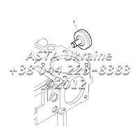 Вспомогательное оборудование, двигатель 1104C-44T, RG38101 G1-27-2, фото 1