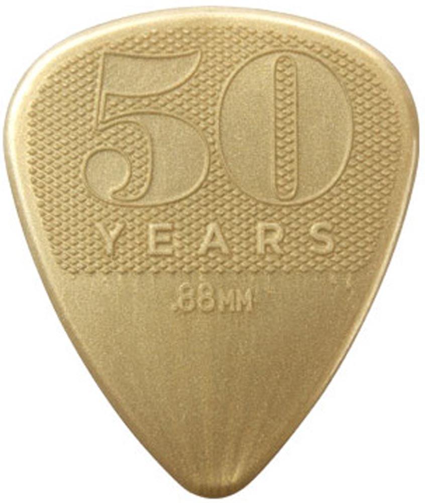 Медиаторы DUNLOP 442P.88 50th ANNIVERSARY GOLD NYLON PLAYER'S PACK 0.88