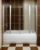 Душевая шторка на ванну распашная