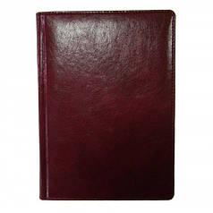 Ежедневник недатированный BRISK OFFICE MADERA Стандарт А5(14,2х20,3) бордовый
