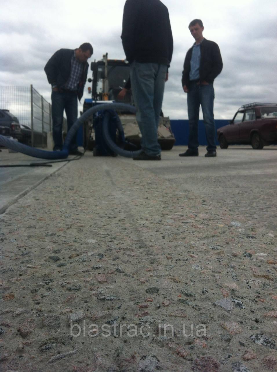 Купить дробеструйную машину для бетона безусадочный цементный раствор цена