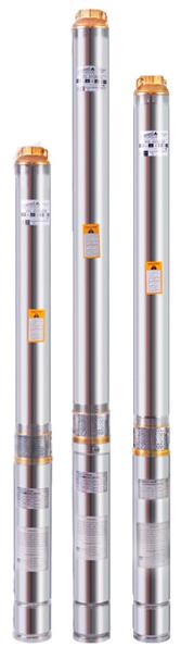 Погружной скважинный насос Euroaqua 90QJD 126–1.5 + контрольбокс