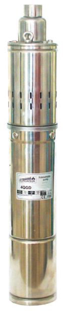 Погружной скважинный насос Euroaqua 4QGD 1,5–60