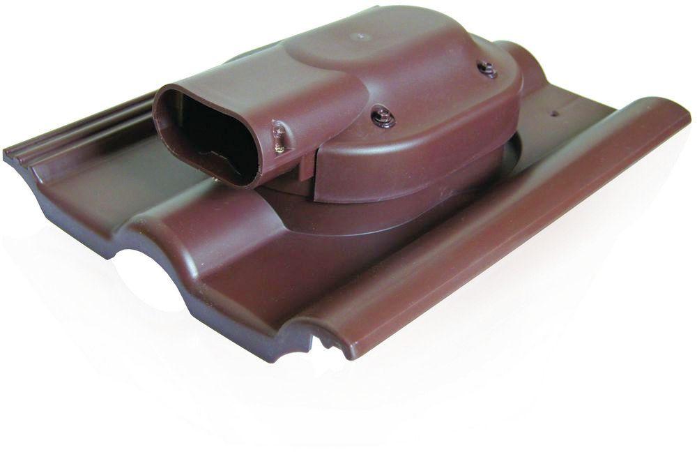 Проходной элемент солнечных батарей Kronoplast PSDBB для черепицы романского типа