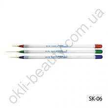 Набор кистей для рисования (3 шт) SK-06