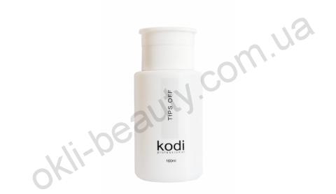 Рідина Tips Off для зняття гель-лаку, акрилу Kodi Professional, 160 мл