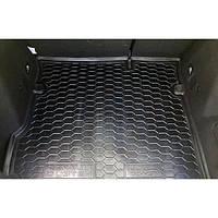 Автомобильный коврик в багажник Renault Duster 2WD (Рено Дастер 2WD) с 2018-