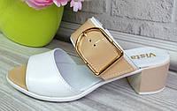 Женские сабо на каблуке, фото 1