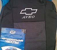 Чехлы на сиденья Chevrolet Aveo (Шевроле Авео) седан с 2002–2011