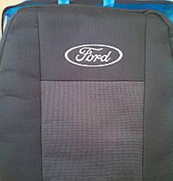 Чехлы на сиденья Ford Transit (Форд Транзит) 1+2 c 2000- (подгол-ки)