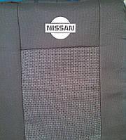 Чехлы на сиденья Nissan Note (1/3 спинка + подлокотник) c 2005-