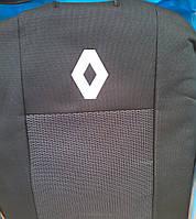 Чехлы на сиденья Renault Kangoo (Рено Кенго) (деленная спинка и сиденье) с 1998-2008
