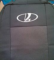 Чехлы на сиденья Lada (Ваз 21099) (цельная спинка) LUX с 1990-