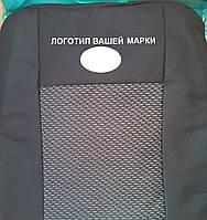 Чехлы на сиденья (budget) автомобиль Dacia Logan седан с 2004-