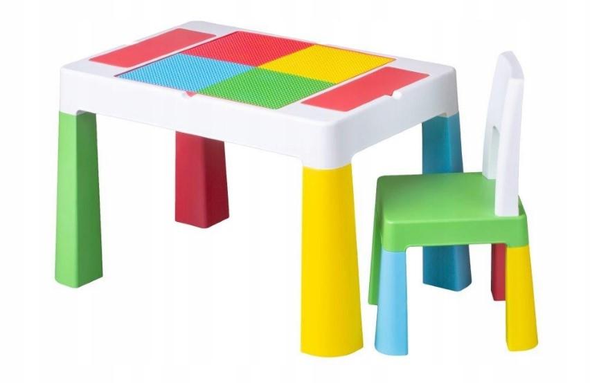 Детский игровой столик со стульчиком MultiFun Tega Baby разноцветный