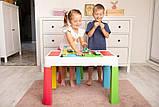 Детский игровой столик со стульчиком MultiFun Tega Baby разноцветный, фото 4