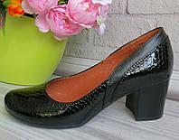 Женские туфли на каблуке от украинского производителя