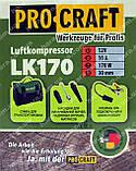 Компрессор автомобильный Procraft LK170 (35 л.мин, 7 Атм.), фото 9
