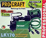 Компрессор автомобильный Procraft LK170 (35 л.мин, 7 Атм.), фото 5