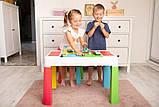 Детский игровой столик со стульчиком  MultiFun Tega Baby розовый, фото 4