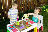 Детский игровой столик со стульчиком  MultiFun Tega Baby розовый, фото 5