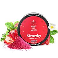 Зубной порошок Cocogreat Strawby для отбеливания зубов клубникой 30 г - 150544